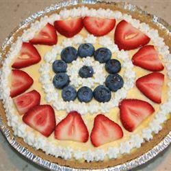 Strawberry Delight Dessert Pie swells02