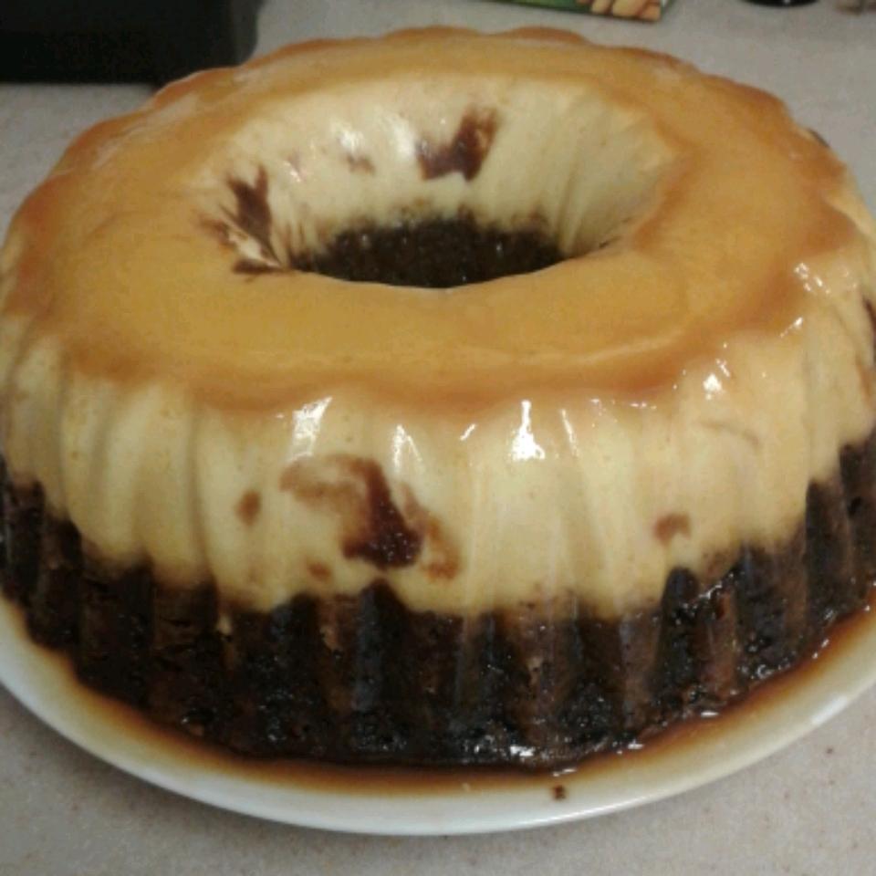 Chocolate Flan Cake JoAnn Muré