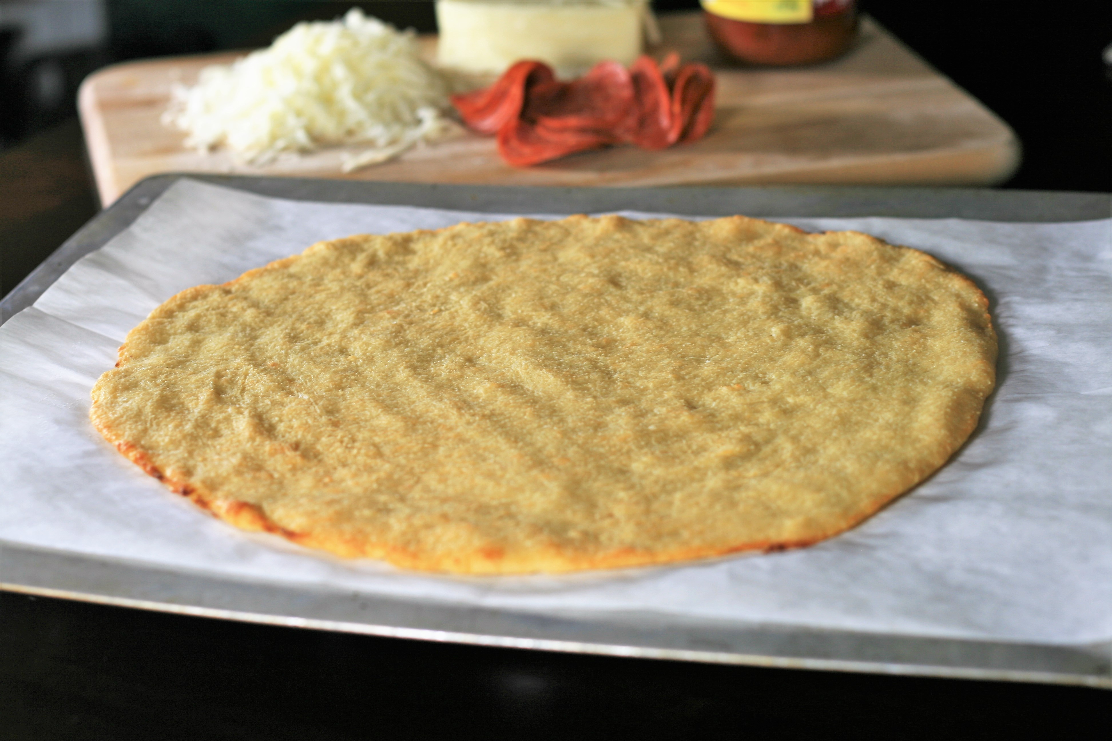 Thin-Crust Fathead Pizza Dough