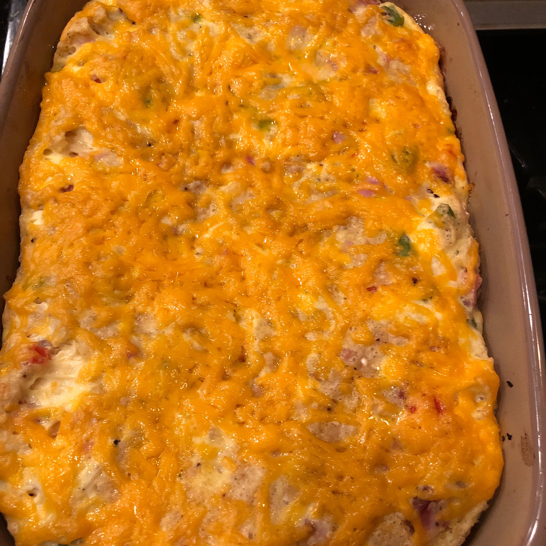 Cheesy Ham and Asparagus Bake Redondo Mama