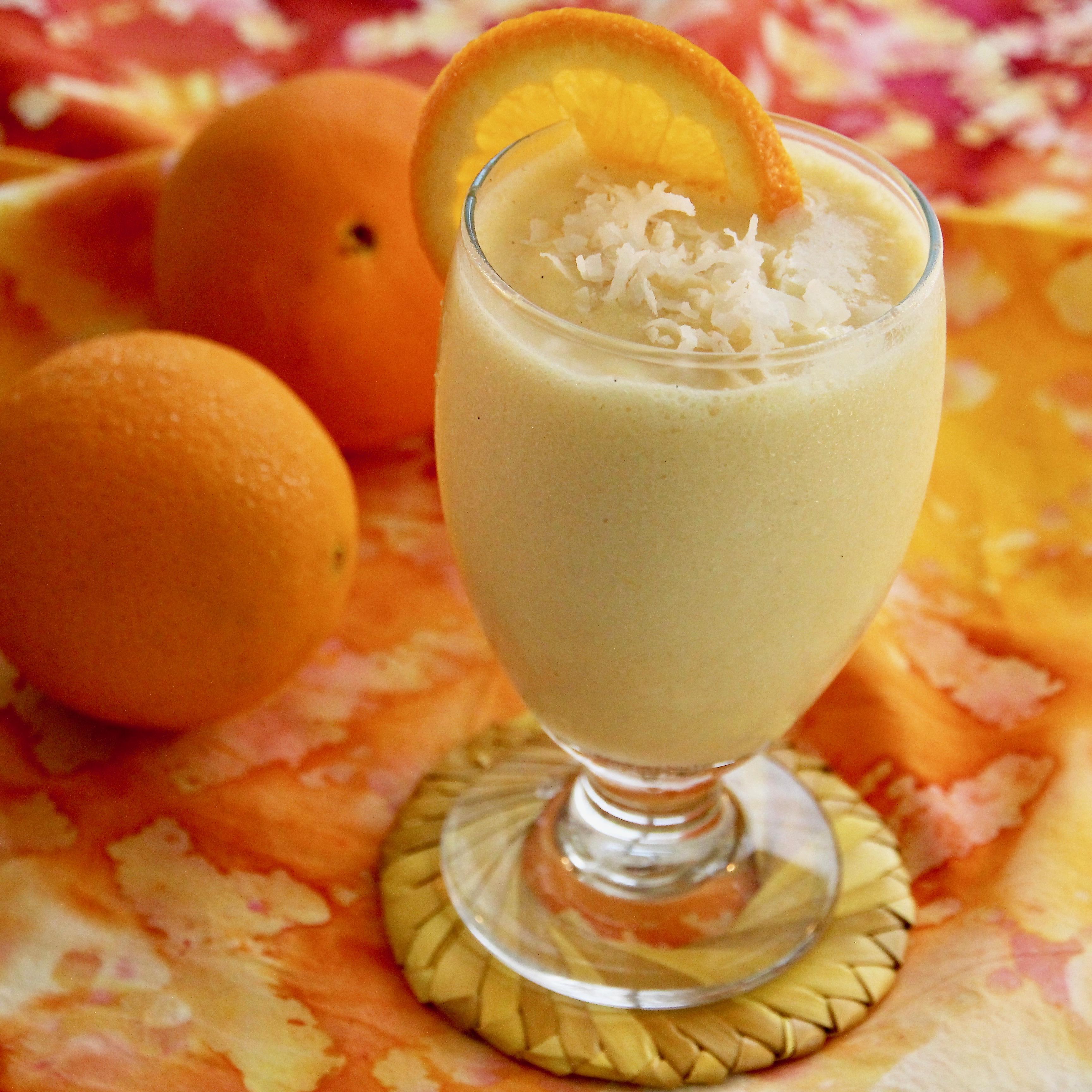 Creamy Orange-Coconut Smoothie
