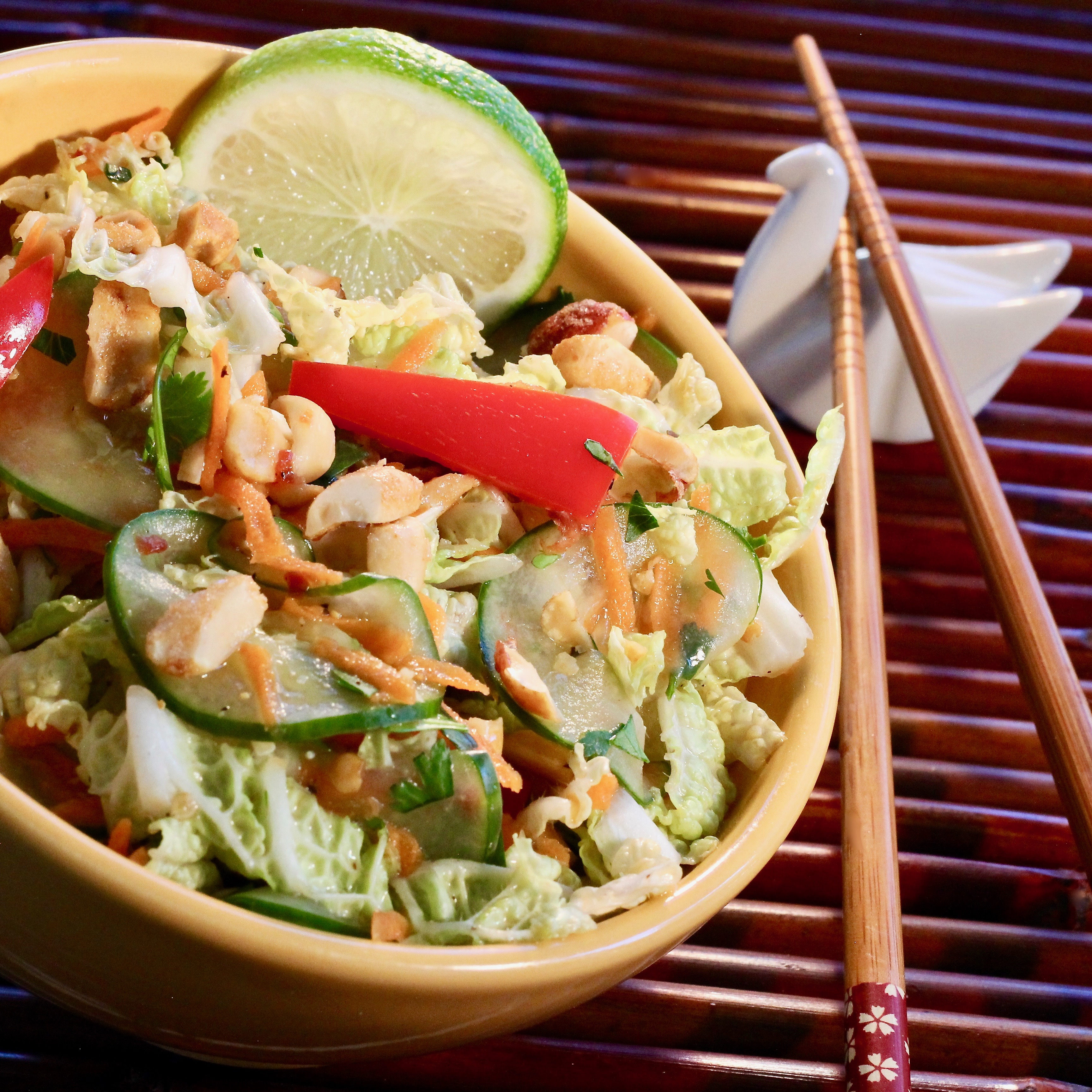 Tangy Thai Cabbage Salad