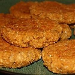 vegan baked oatmeal patties recipe