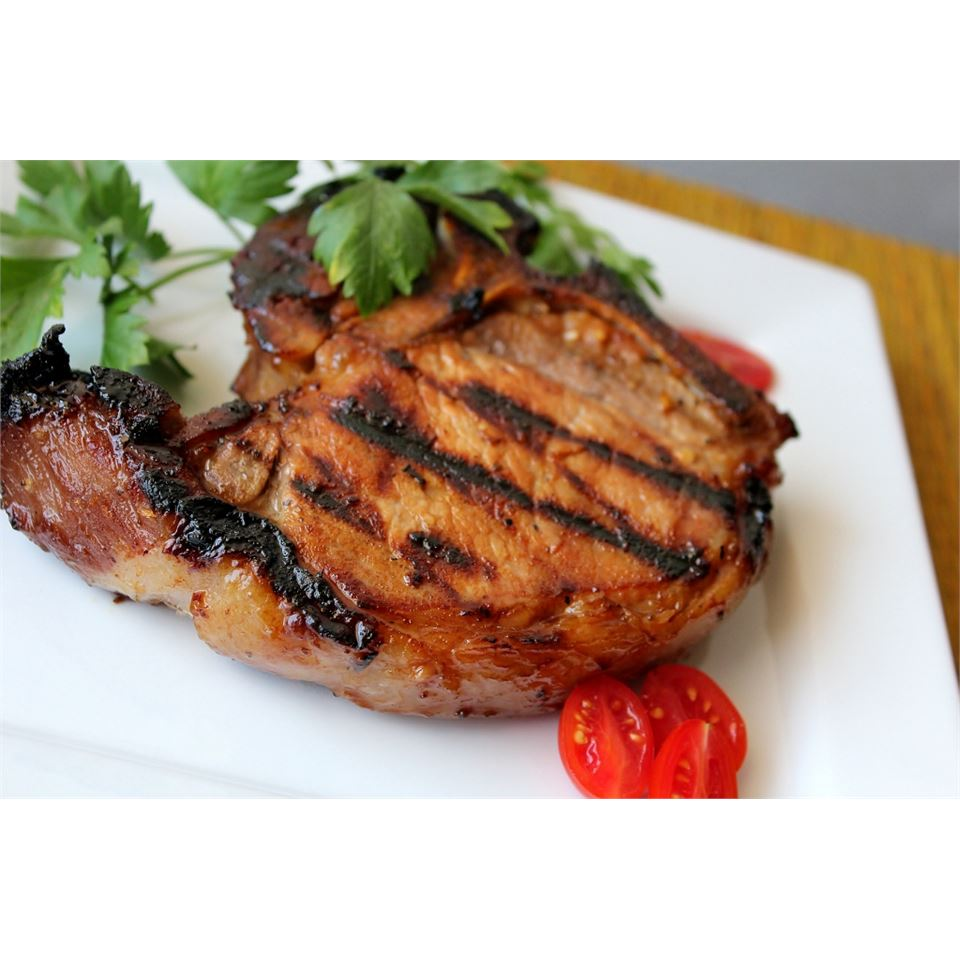 Summer Grilled Pork Chops Melissa Goff