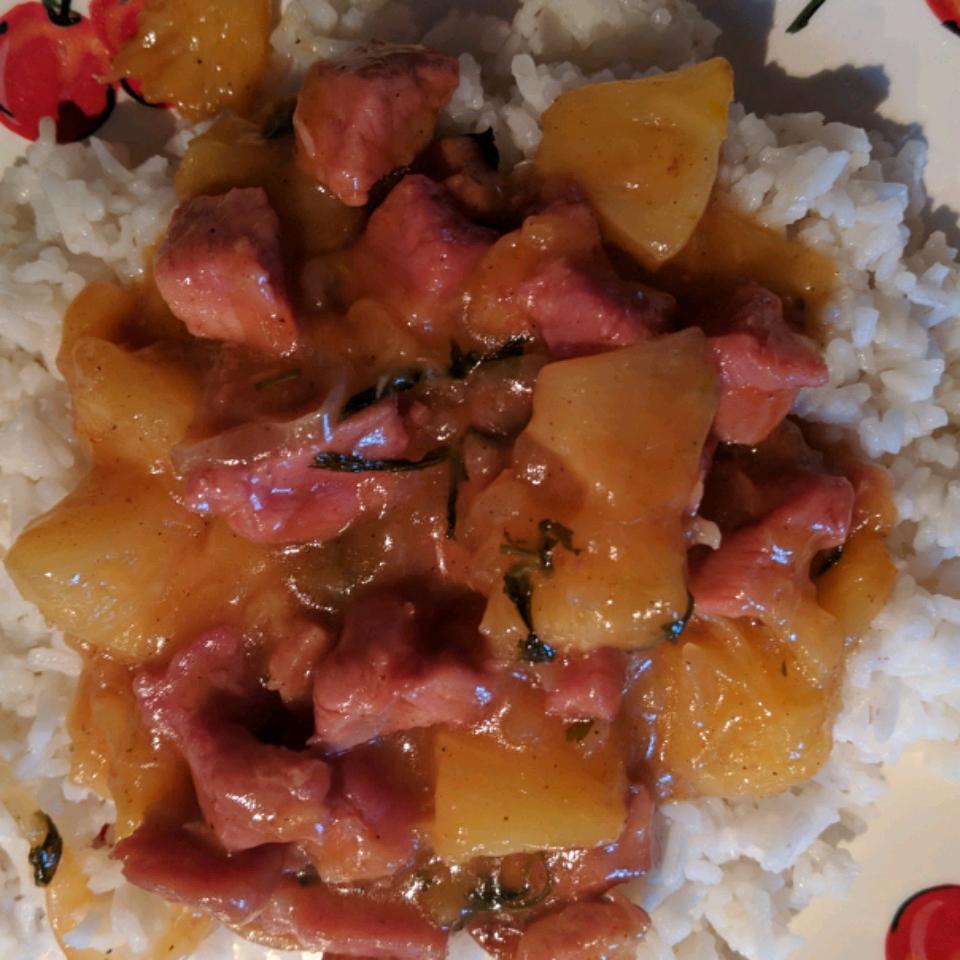 Ham and Pineapple Dinner
