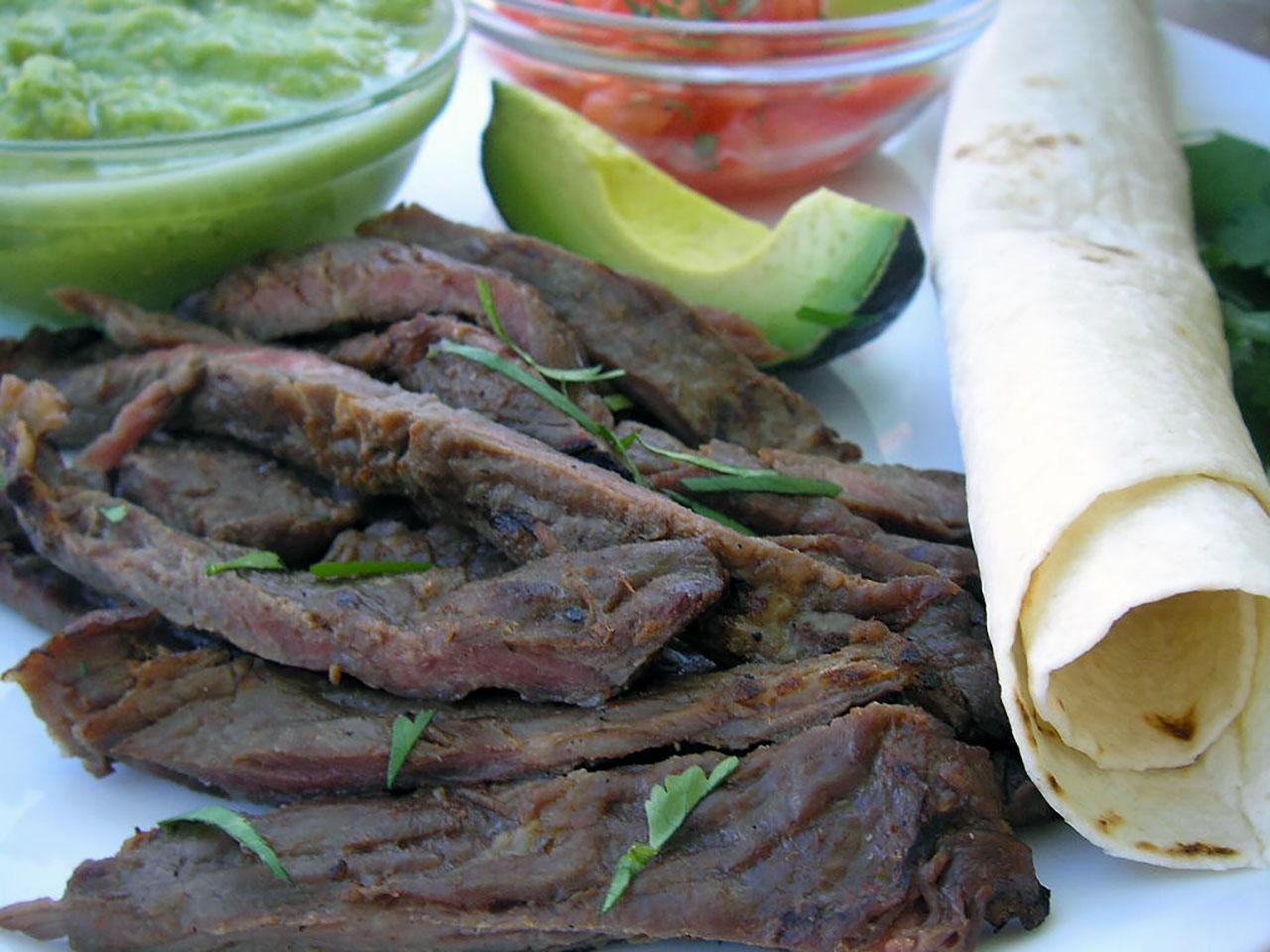 Taqueria Style Tacos - Carne Asada