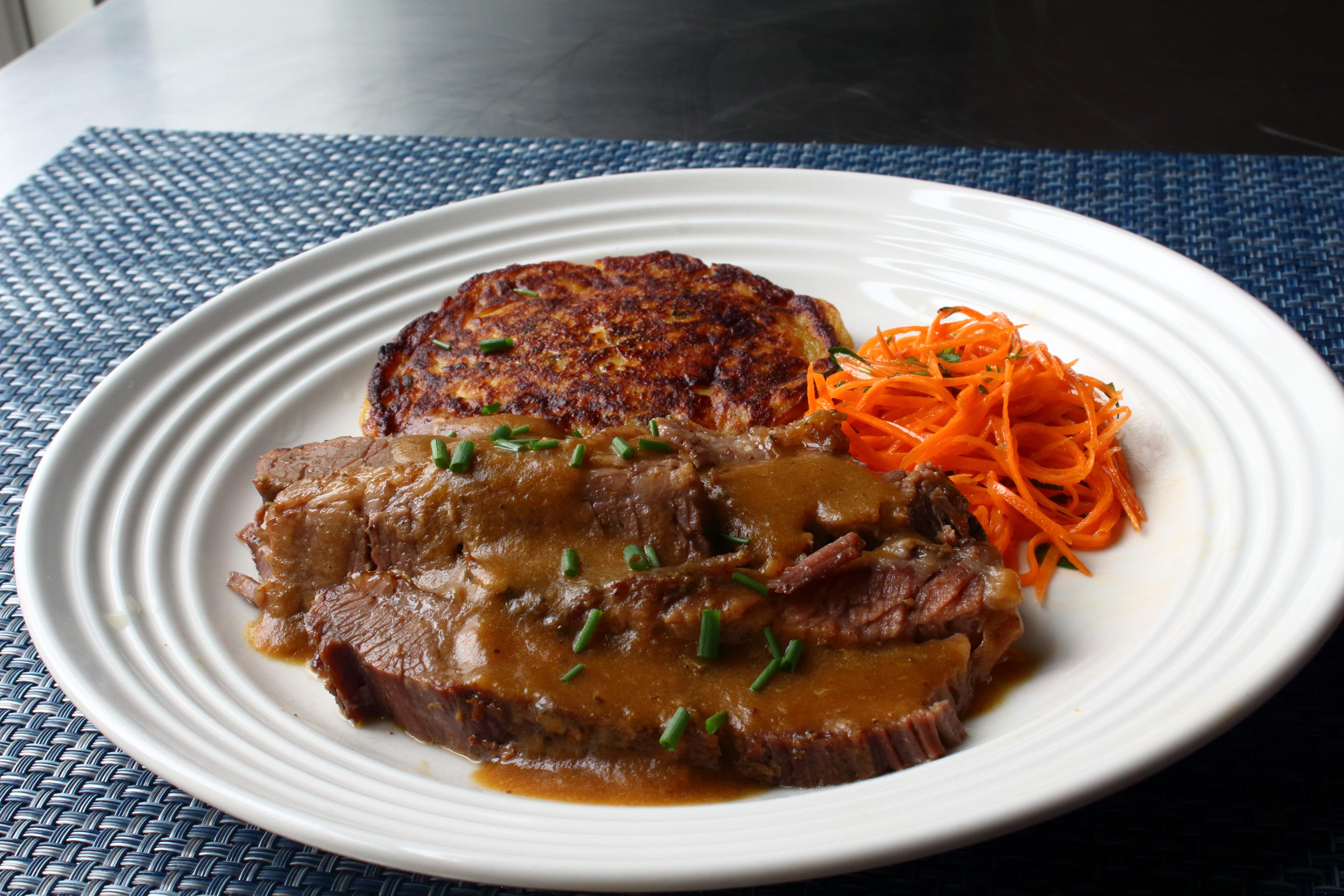 Easy Baked Beef Brisket