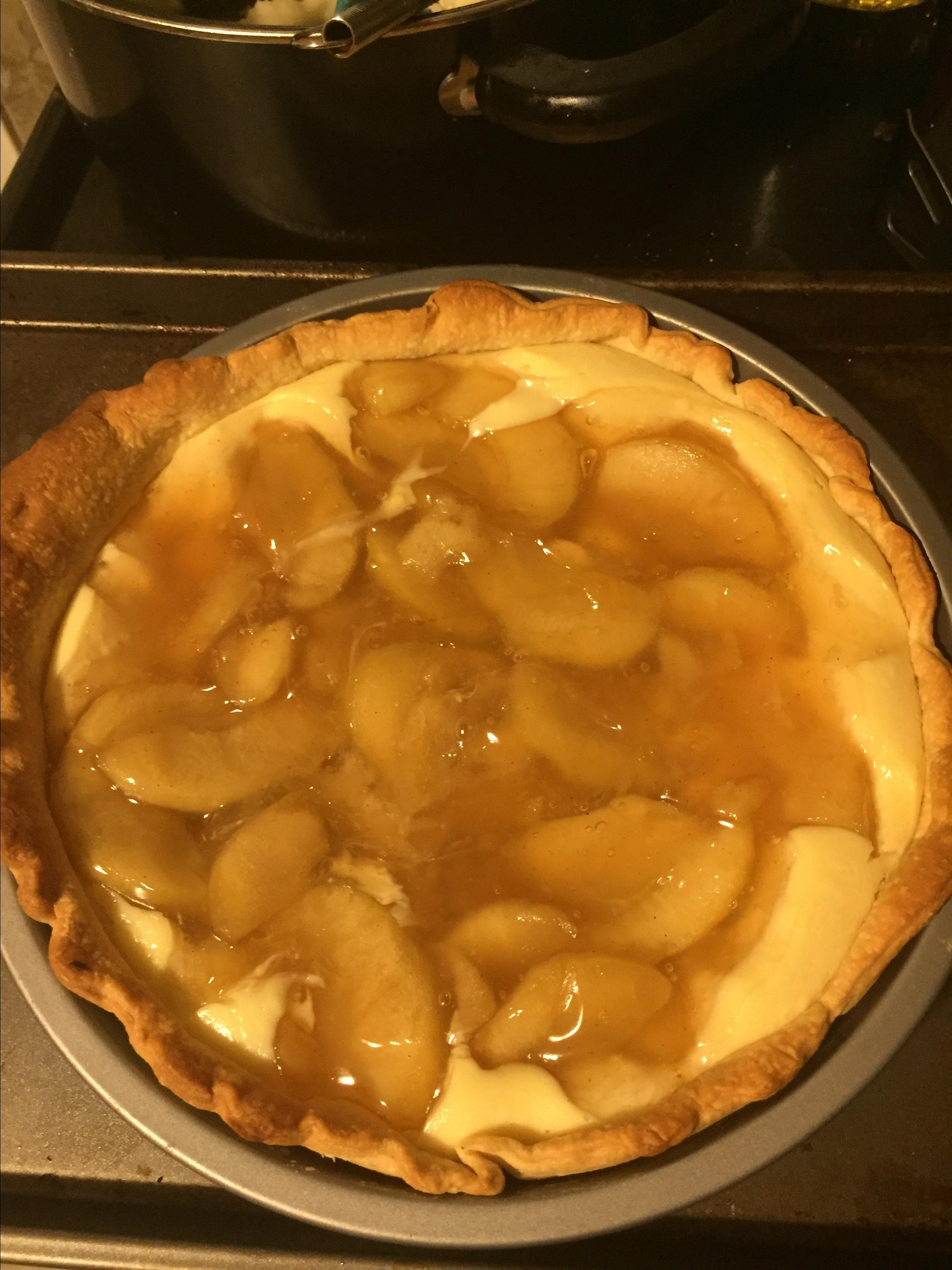 Apple Cheesecake Pie Haley Lail