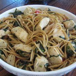 Spinach Garlic Pasta Zola Griffin Paget
