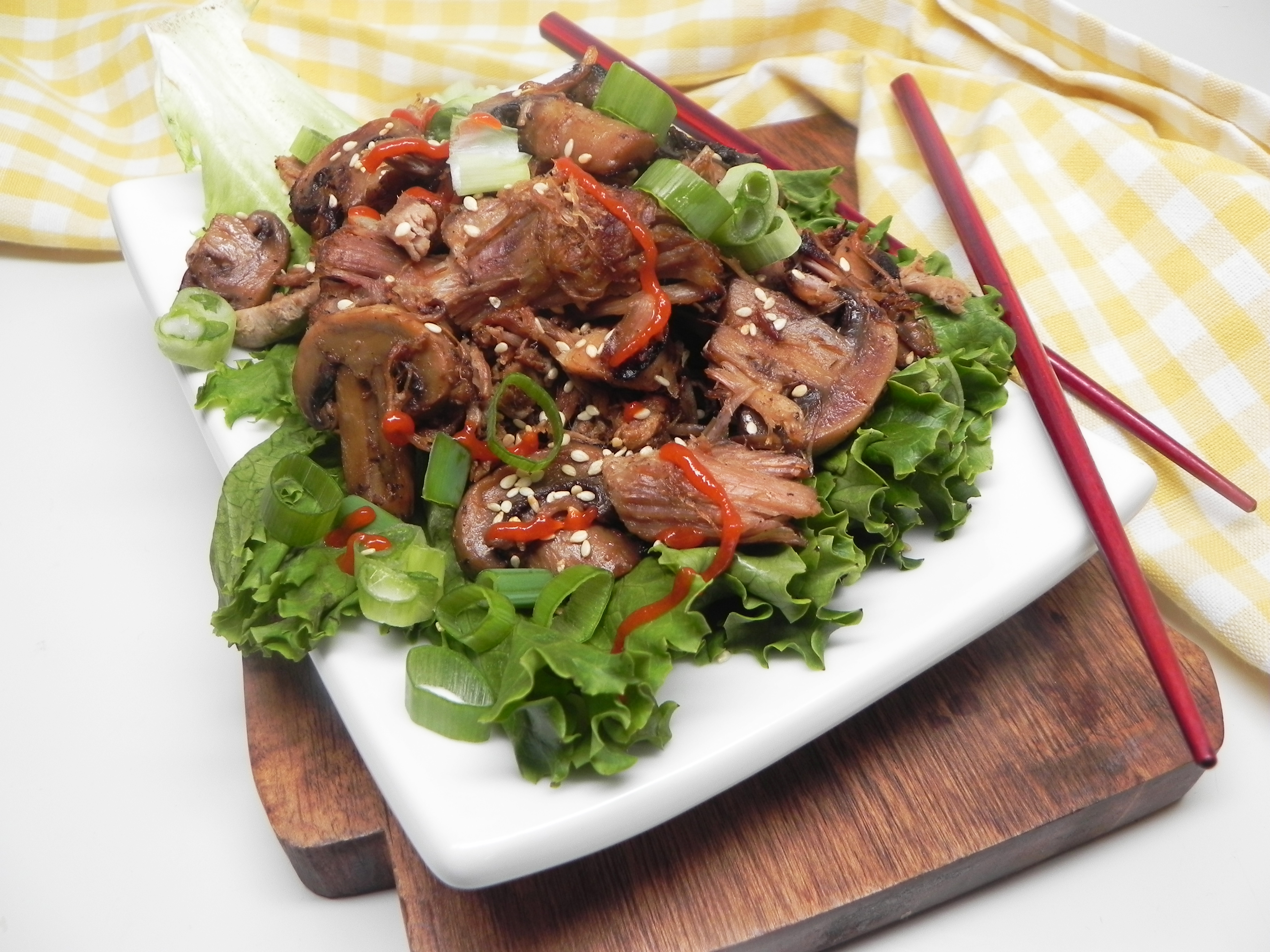 Instant Pot® Asian-Style Pulled Pork