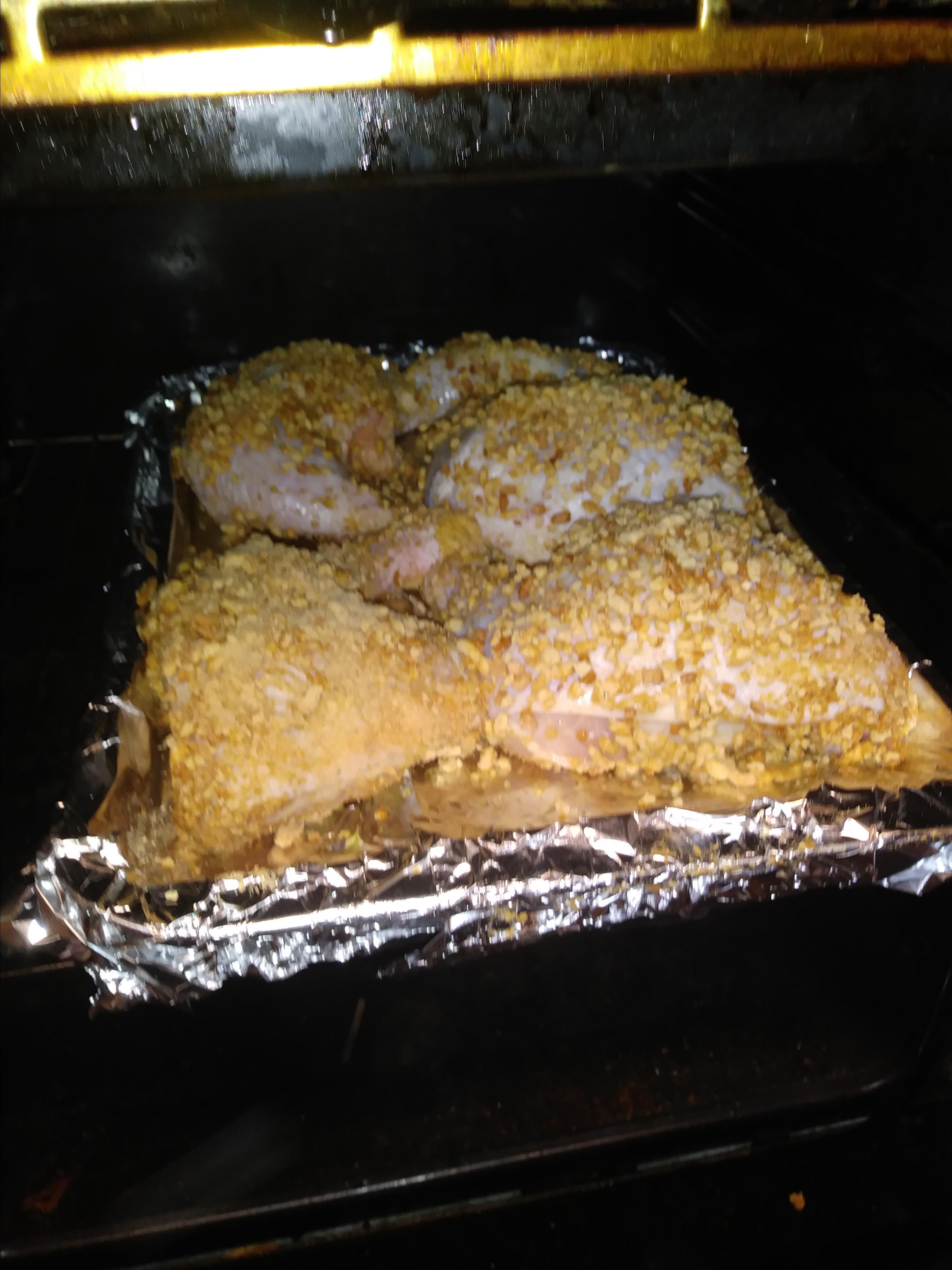 Crispy Baked Cereal Chicken Terri Welty