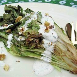 Grilled Escarole