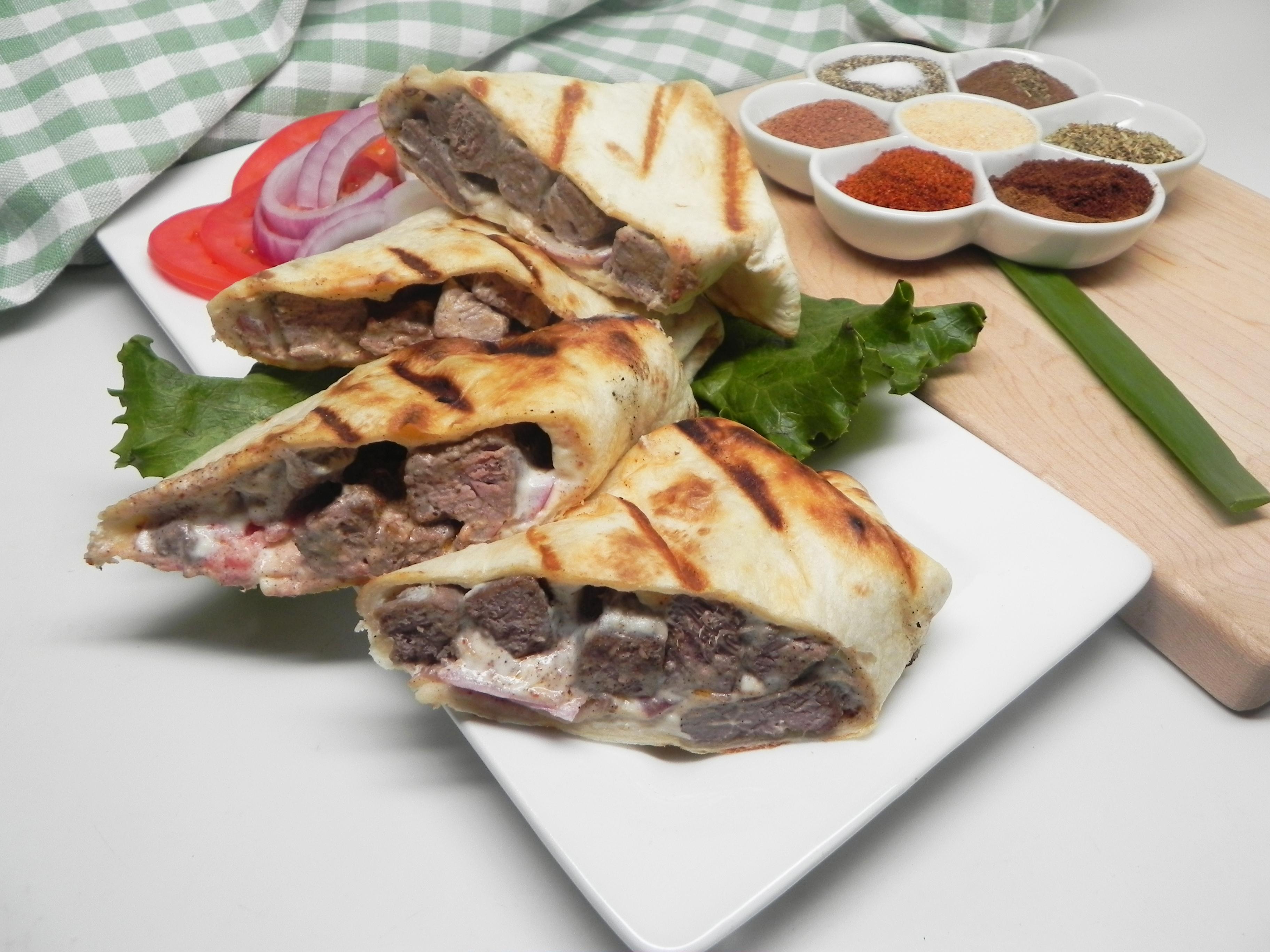 Easy Beef Shawarma