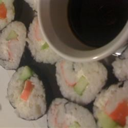 Cream Cheese and Crab Sushi Rolls Lexi1987