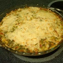 Italian Spinach-Cottage Cheese Pie Sarah Meedel
