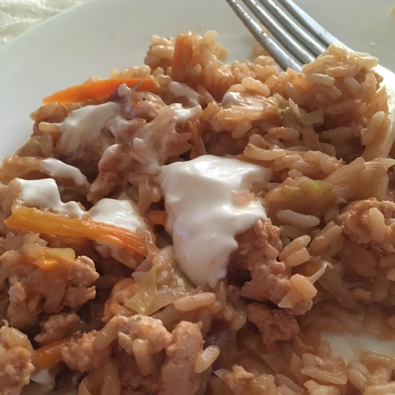Golompke (Beef and Cabbage Casserole) joakleyjames