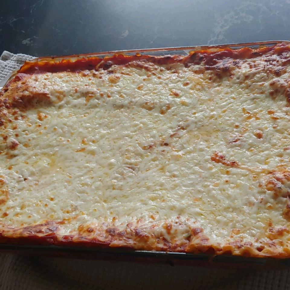 Cheese Lasagna Laura Snider