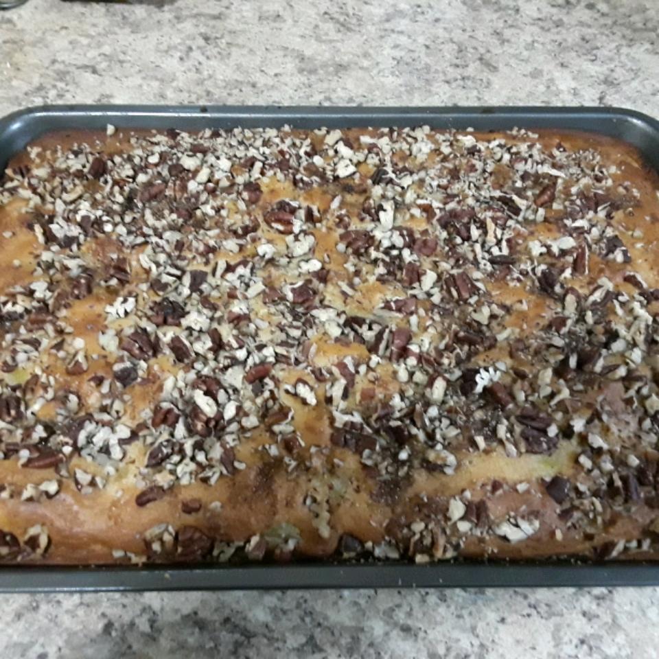 Pecan Pineapple Coffee Cake