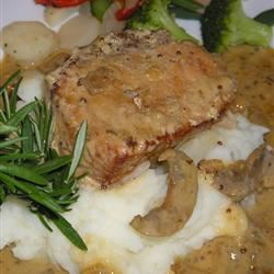 Pork Tenderloin with Creamy Dijon Sauce
