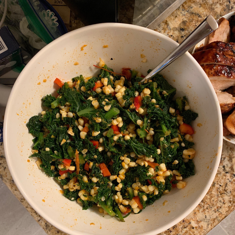 Corn and Kale Salad