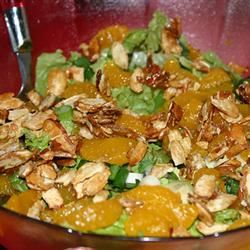 Betsy's Mandarin Orange Salad caitlinleah