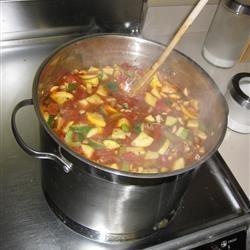 Zucchini Tomato Soup I taniahui