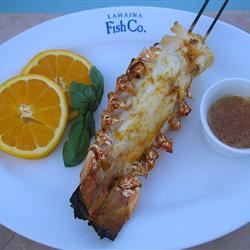 Orange-Scented Grilled Lobster Tails mauigirl