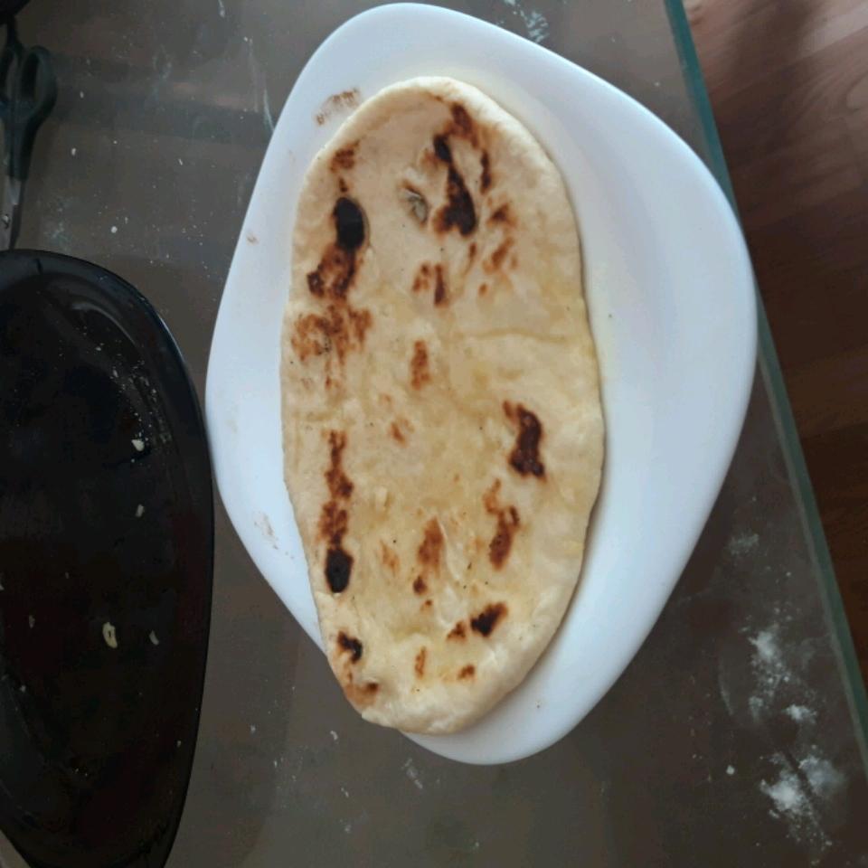 Garlic Naan Christopher Pierce