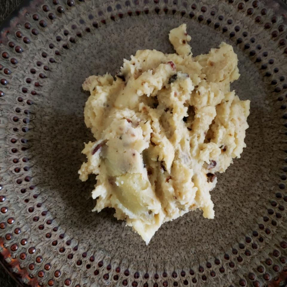 Bacon Rosemary Mashed Potatoes Oseiwa