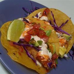 Baja-Style Fish Tacos lattisha