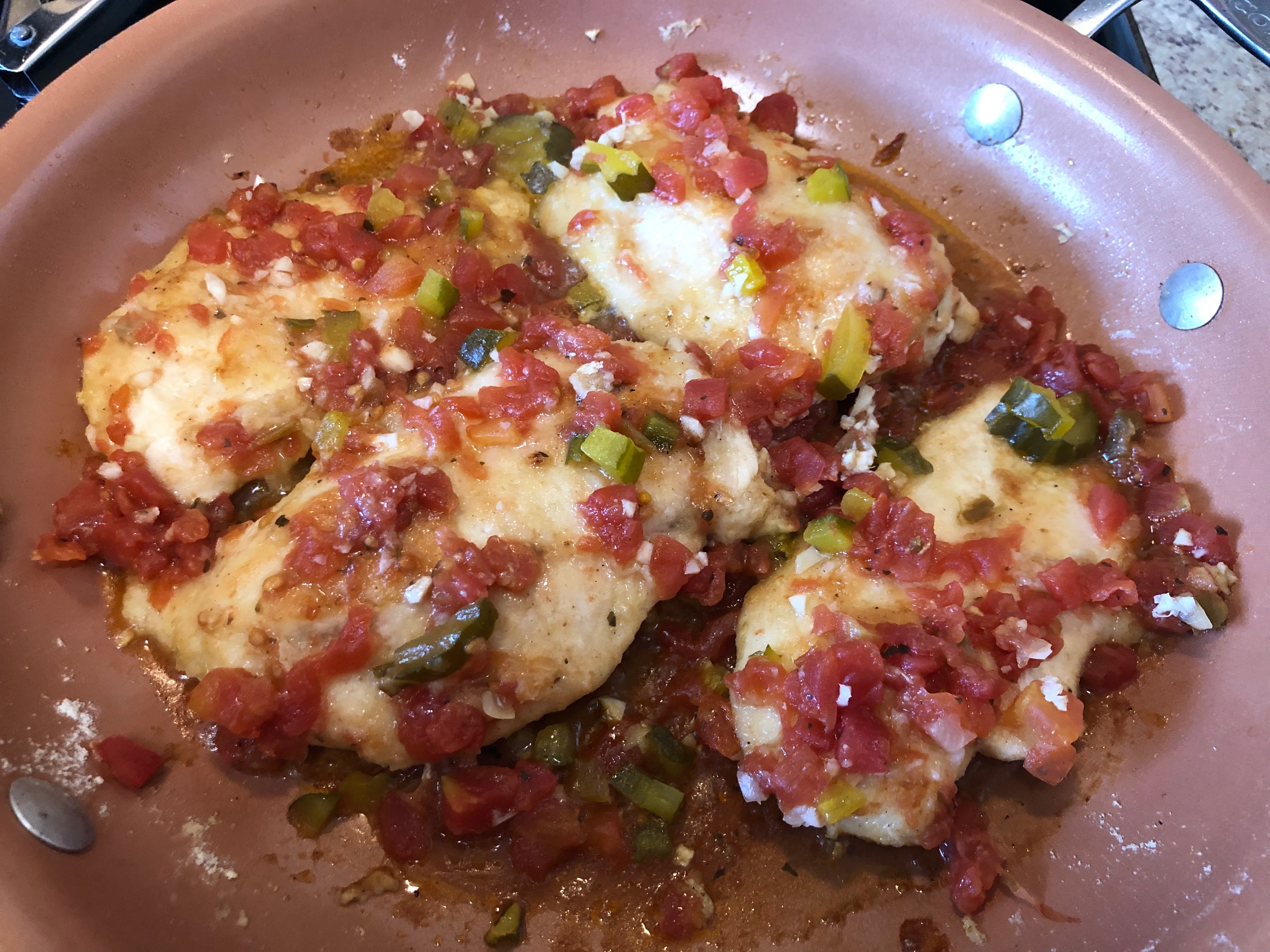 Quick and Easy Chicken Piquant Marcie