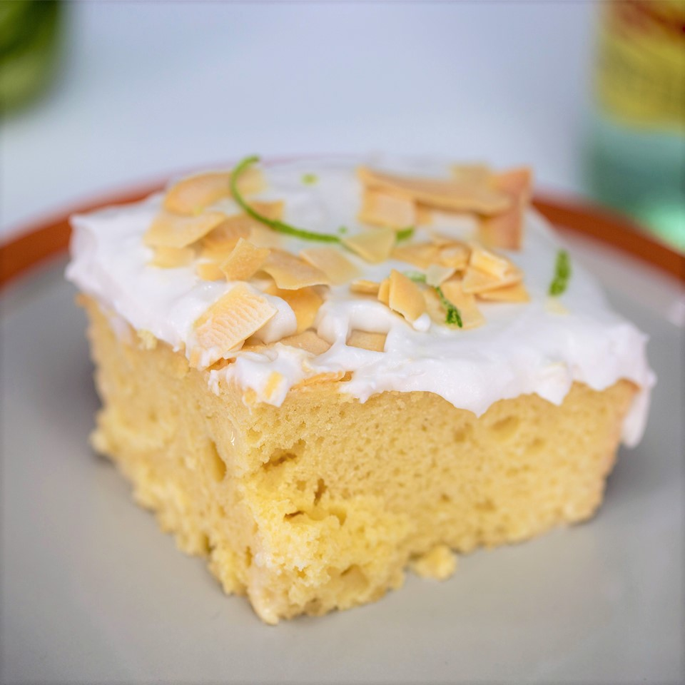 Coconut Tres Leches Cake Smart Cookie