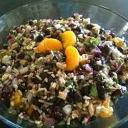 Black Bean and Wild Rice Salad Terri