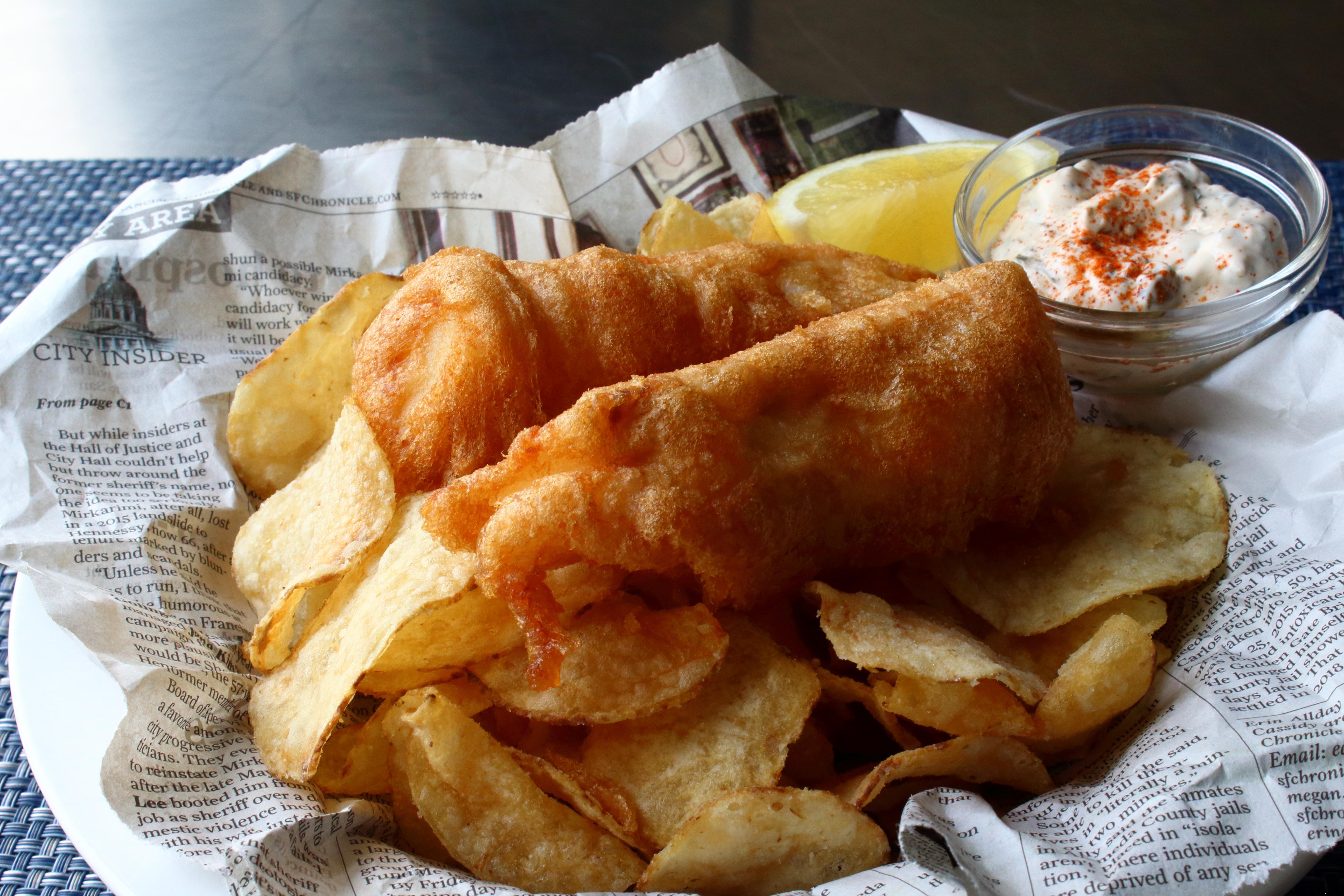 Crispy Beer Batter Fish & Chips Chef John