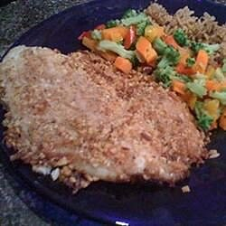 almond and coconut crusted tilapia recipe