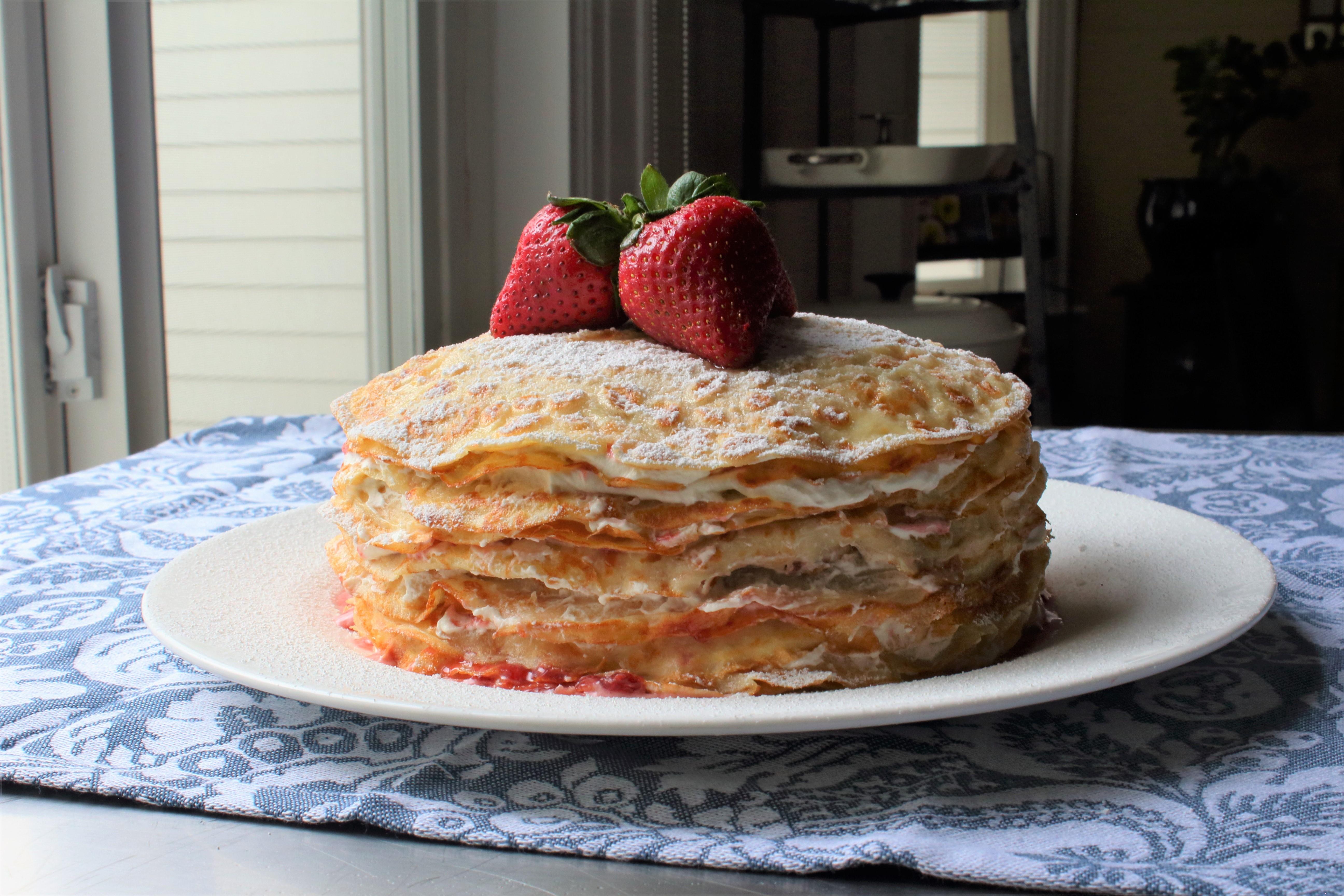 Chef John's Strawberry Crepe Cake Chef John