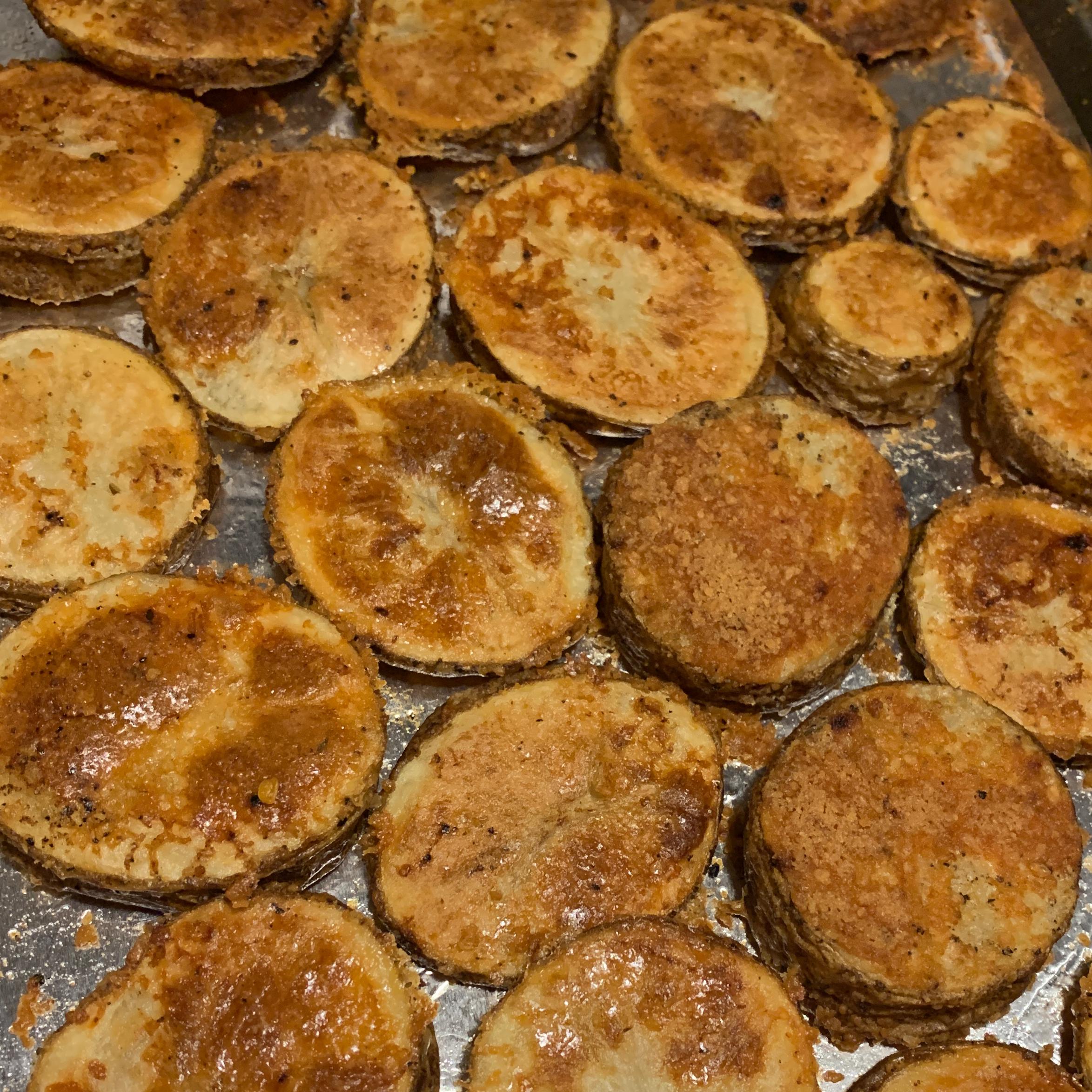Kristen's Parmesan Roasted Potatoes laken jenkins