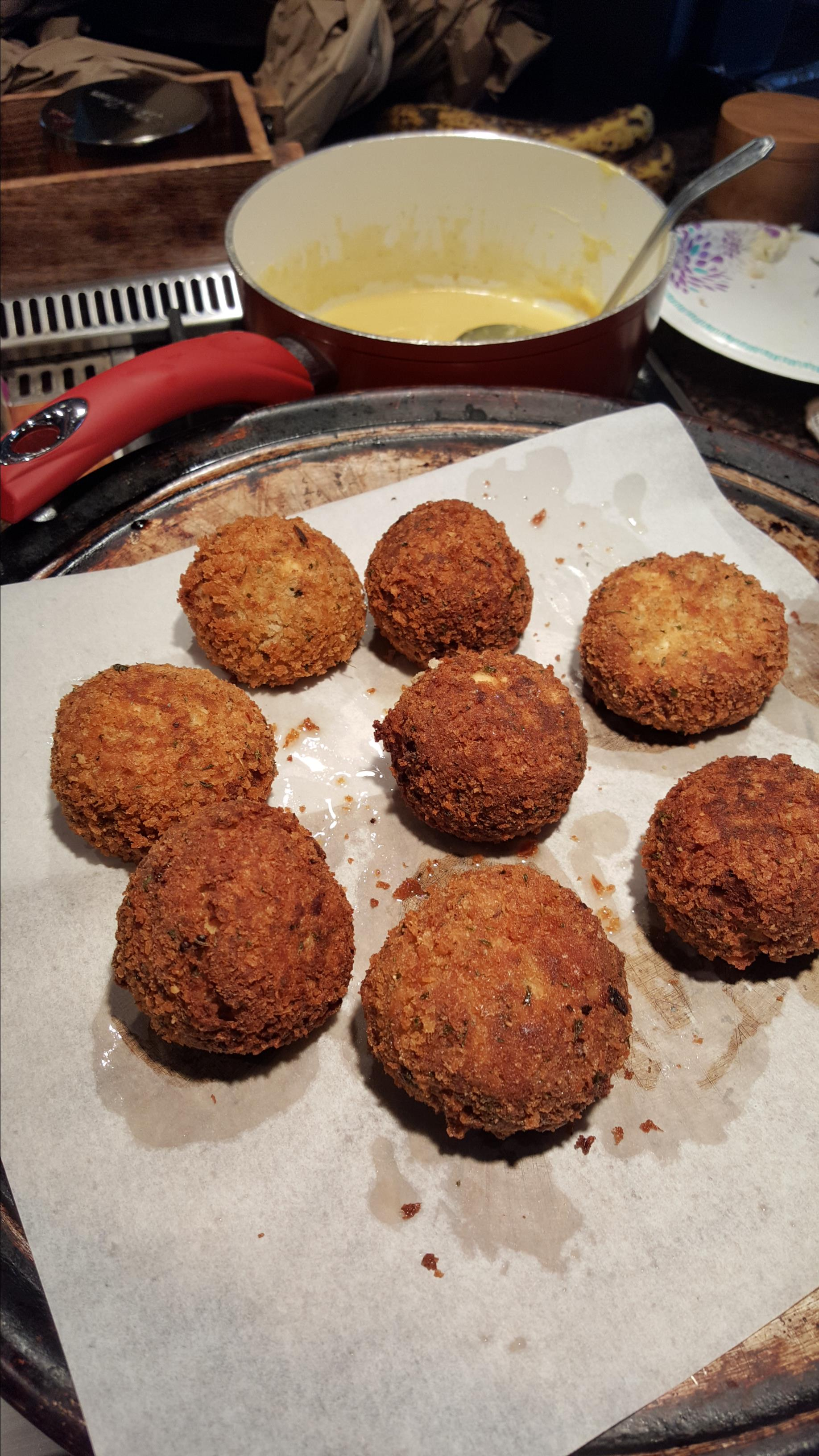Pan Fried Chicken Croquettes Dianne Wallace