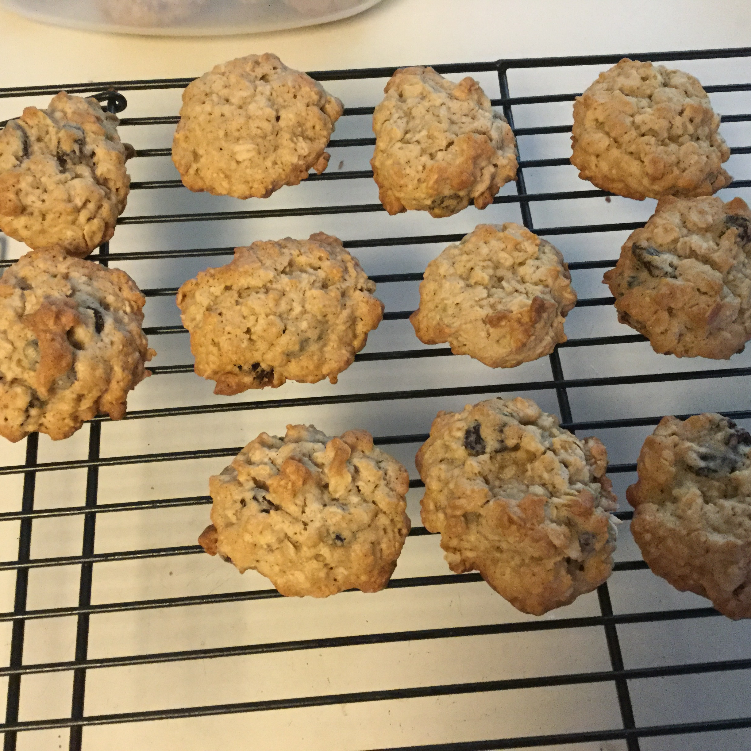 Vanishing Oatmeal Raisin Cookies Kelley Myers