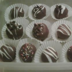 Easy Chocolate Chip Cookie Dough Truffles