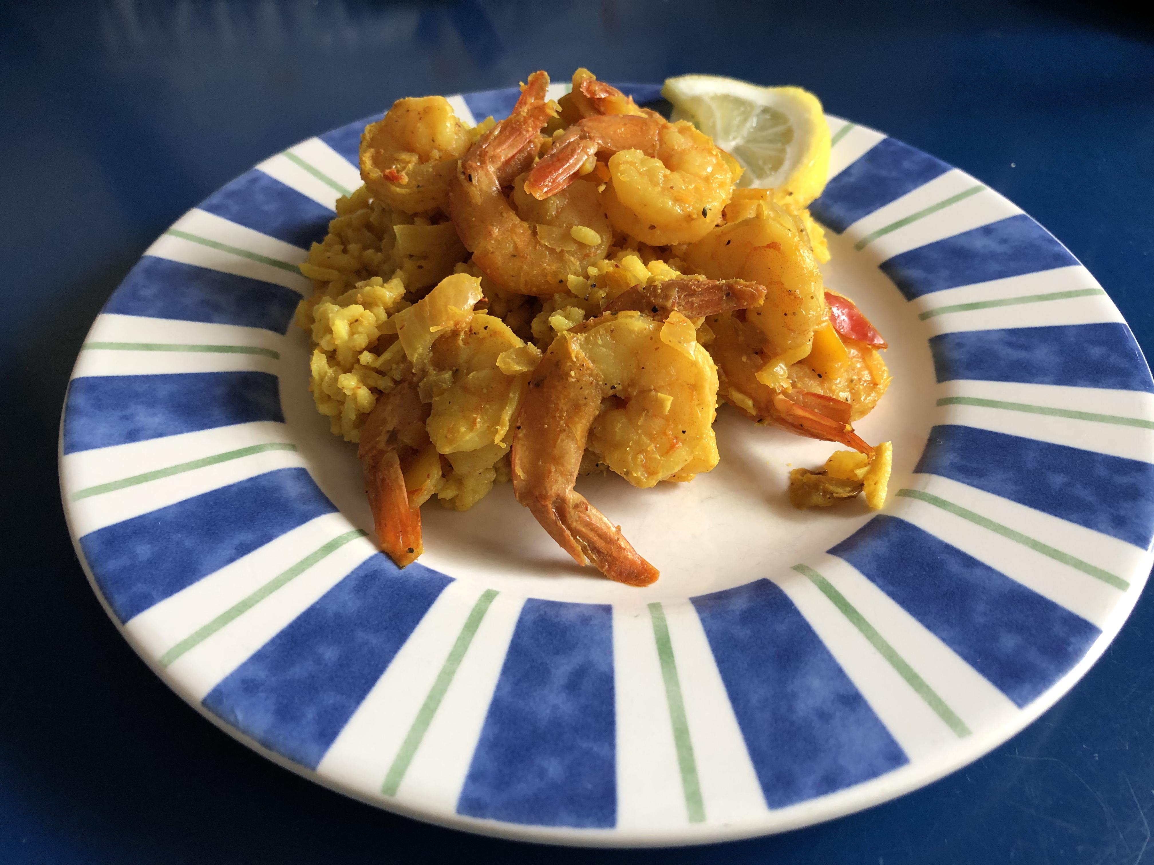 Easy Shrimp Mozambique