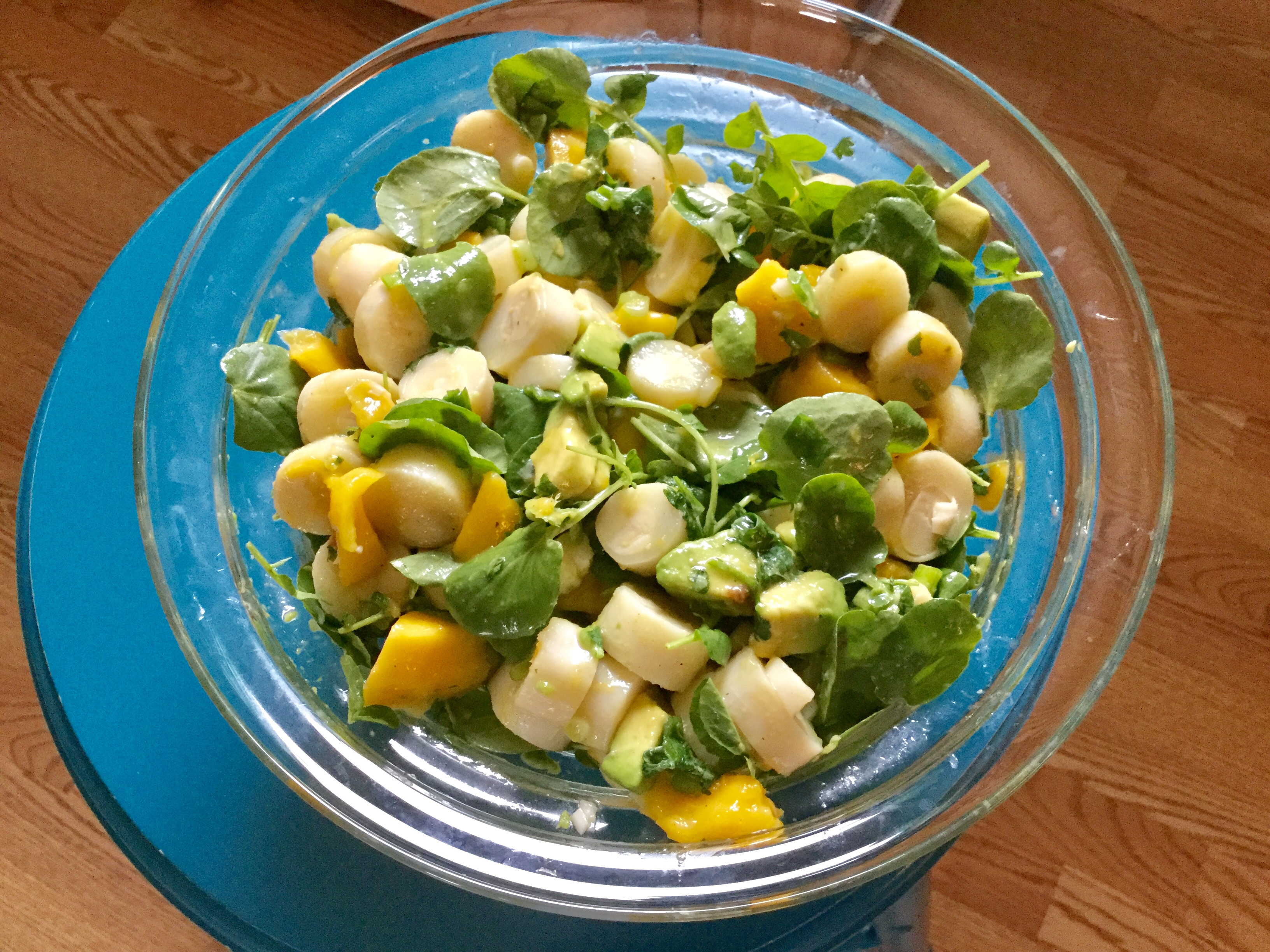 Tropical Hearts of Palm Salad with Mango and Avocado