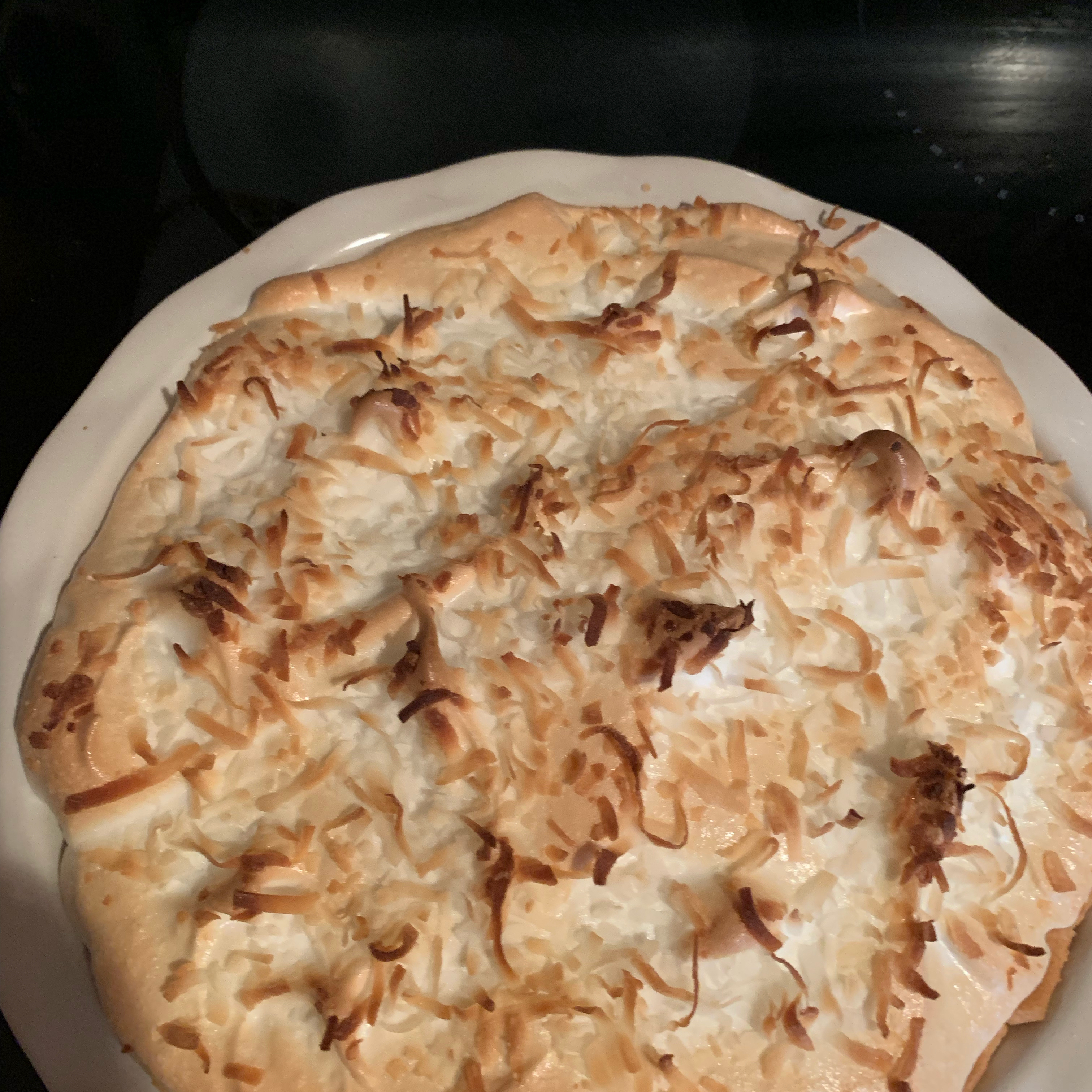 Coconut Cream Meringue Pie Jamie Dent