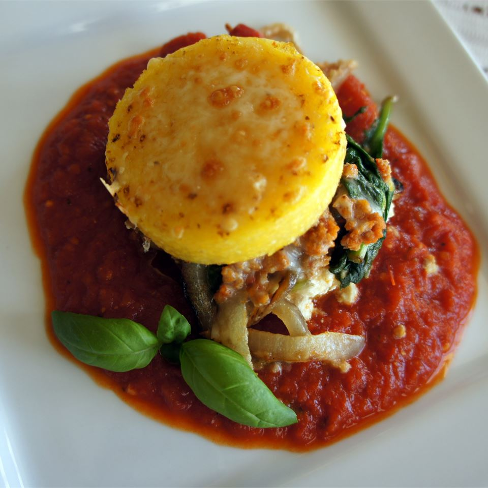 Angie's Polenta Lasagna LatinaCook
