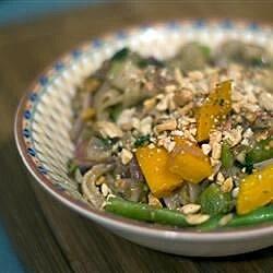 thai peanut noodle stir fry recipe