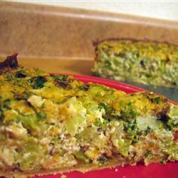 Tofu Quiche with Broccoli Christine