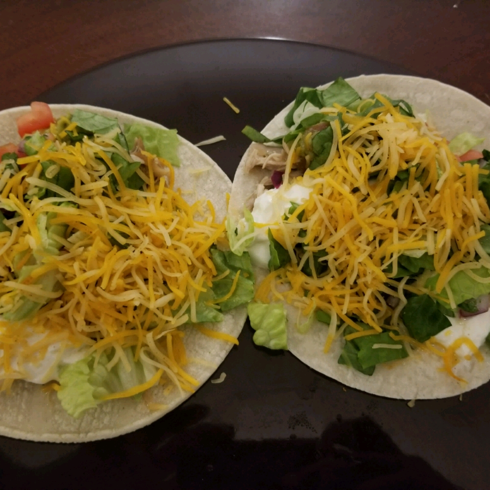 Slow Cooker Pulled Chicken Tacos Brianna