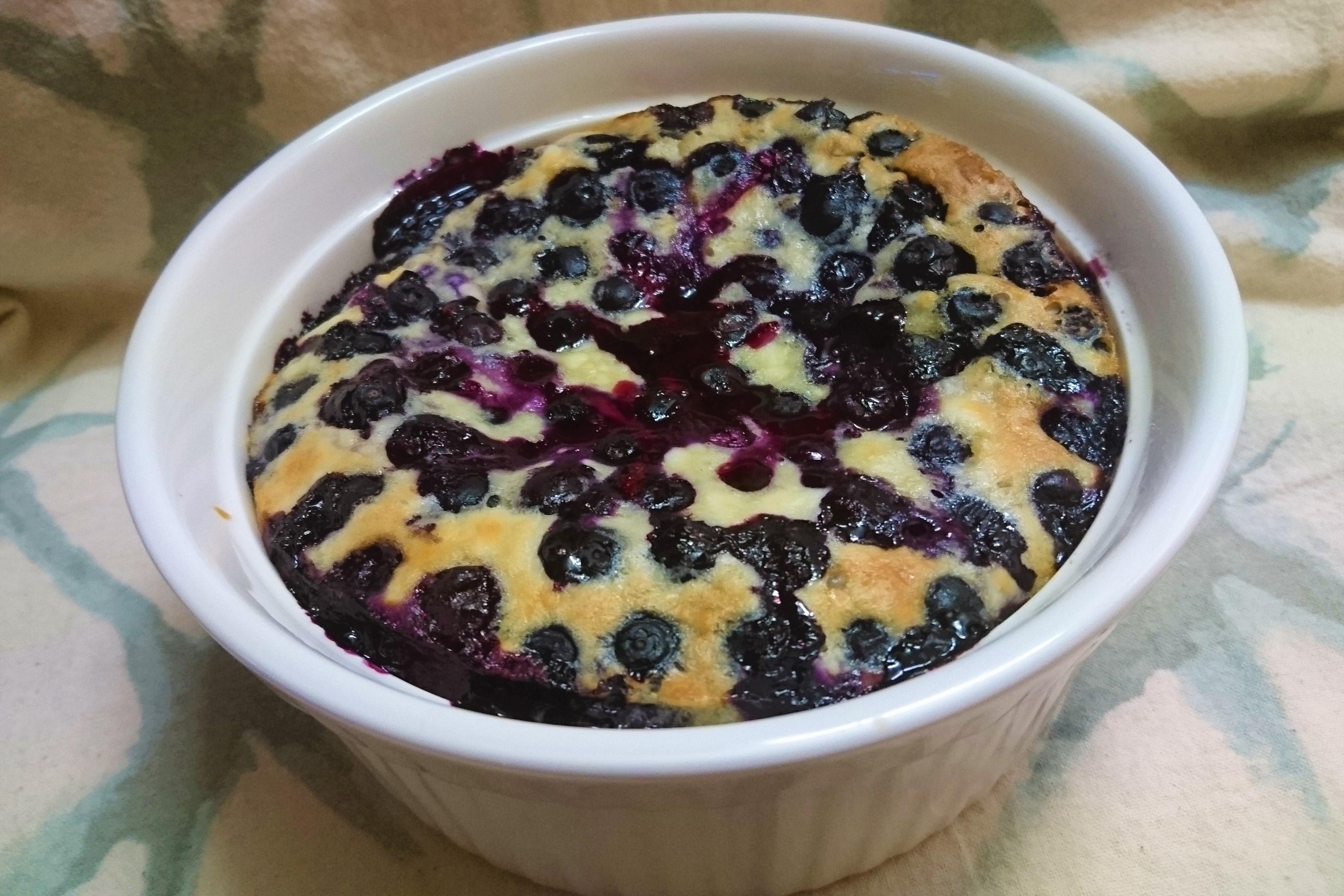 Chef John's Blueberry Clafoutis