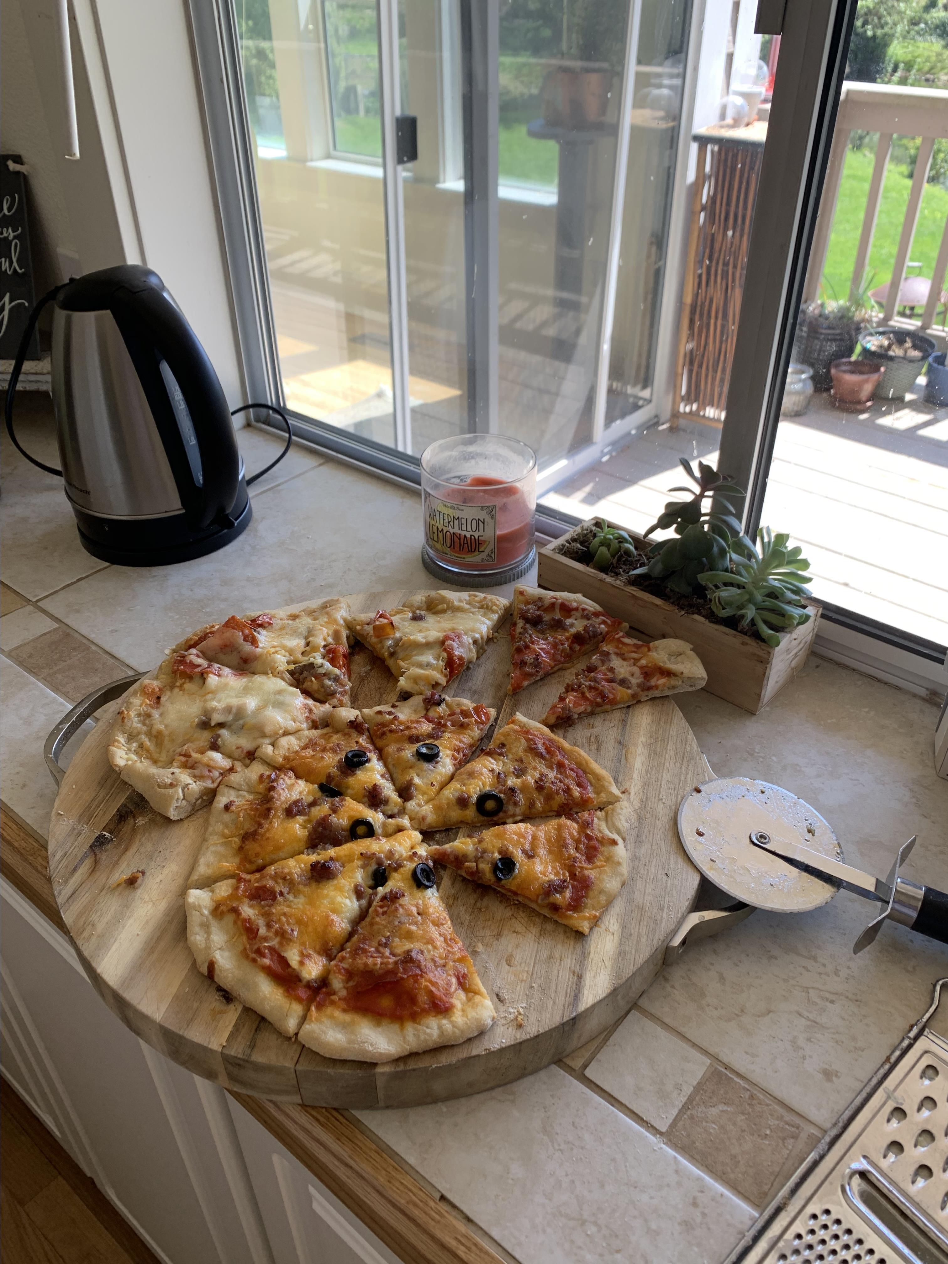 Sourdough Pizza Crust Dough Brad Arica Hawley