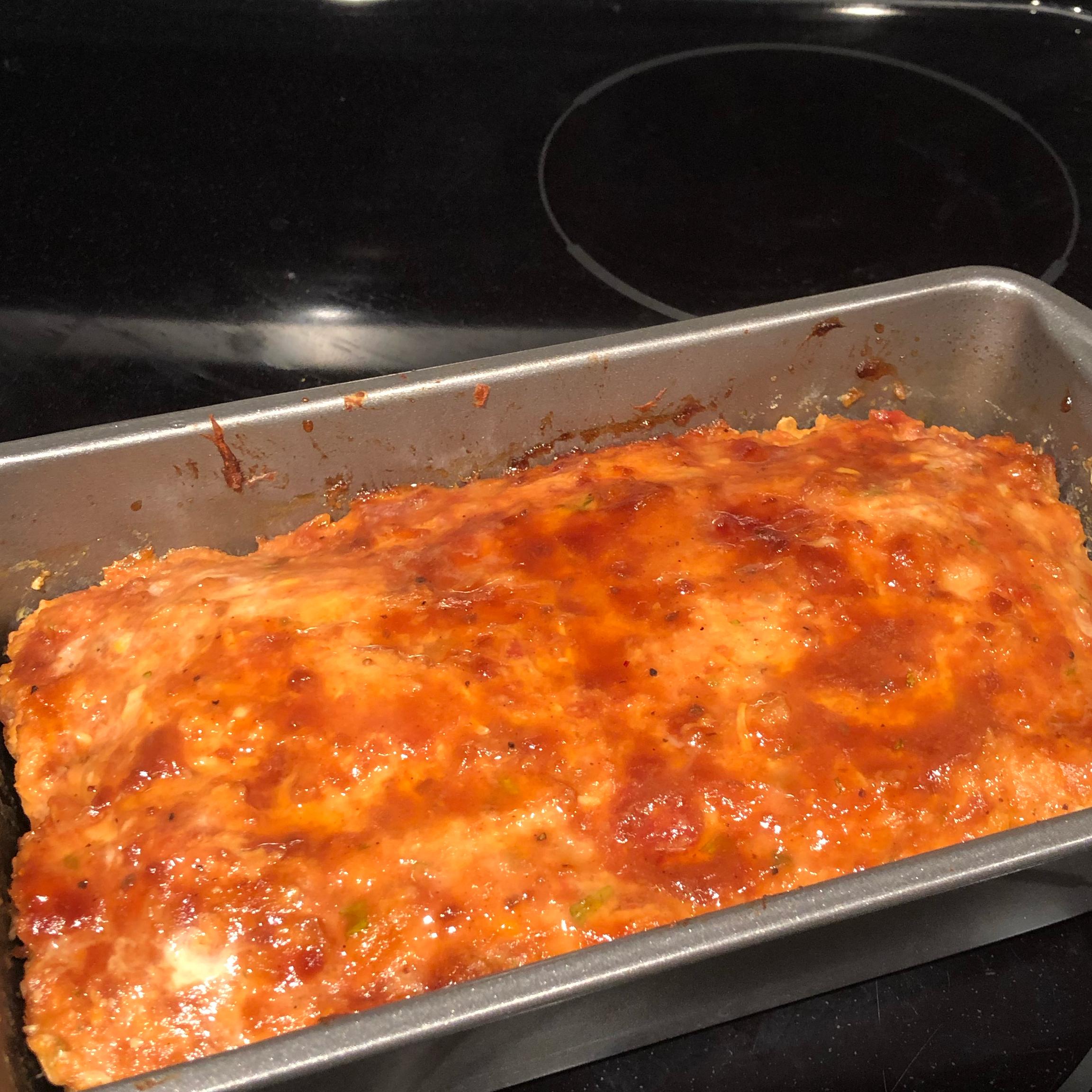 Salsa Chicken Meatloaf Angelique Hazard